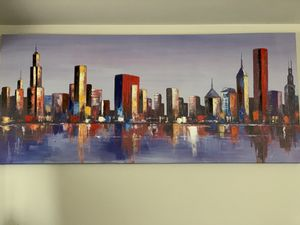 City Canvas Painting for Sale in Severna Park, MD