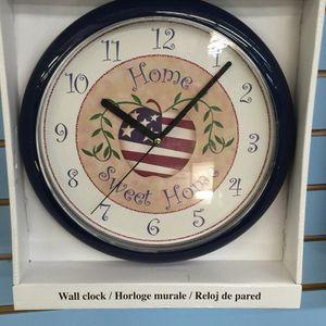 Home sweet home clock for Sale in Manassas, VA