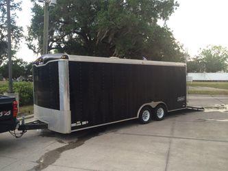 Haulmark enclosed trailer car hauler for Sale in Orlando,  FL