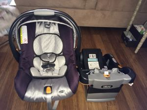 Chicco keyfit car seat with base for Sale in Fairfax, VA