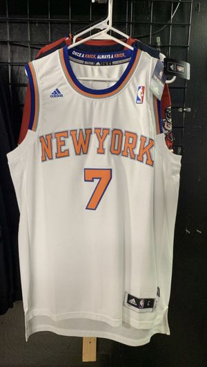 Adidas New York Knicks Carmelo Anthony Jersey Large 220$ for Sale in West Valley City, UT
