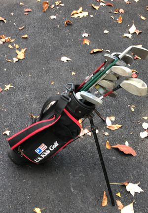 kids assorted golf clubs for Sale in Wilton, CT