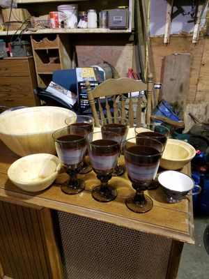 Lots of dishes and nice glassware for Sale in Washougal, WA