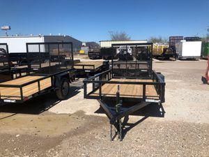 Utility trailer 5x10 single axle for Sale in DeSoto, TX