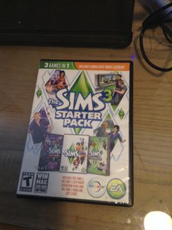 The sims 3 starter pack for Sale in Hialeah,  FL