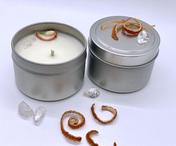Healing Candles 4oz Tin