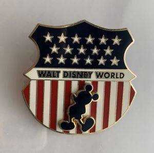 Fourth 4th of July Disney Trading Pin badge shield for Sale in Deerfield Beach, FL