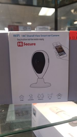 Wifi 180 overall view smart net camera Hi secure for Sale in Las Vegas, NV
