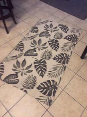 Large IKEA rug light weight machine washable for Sale in Miami, FL