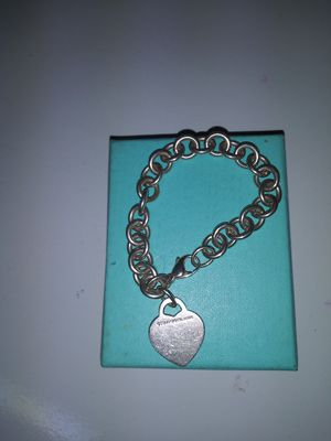 Tiffany & co heart charm bracelet for Sale in North Providence, RI