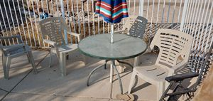 FREE - pool table and chair set for Sale in Las Vegas, NV