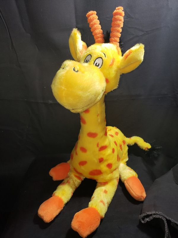 Dr suess giraffe to think I saw it on Mulberry street