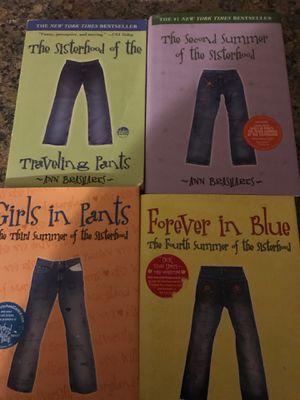 4-Book series Sisterhood of the Traveling Pants for Sale in Stratford, CT