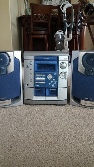 Aiwa Stereo, 3 Disk CD, Duel Tape, Tuner for Sale in Menifee, CA