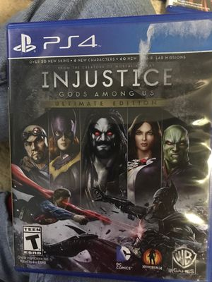 PlayStation 4: Injustice for Sale in Orlando, FL