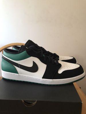 Brand new Nike air Jordan 1 low mystic green premium shoes men's size 17 for Sale in El Cajon, CA