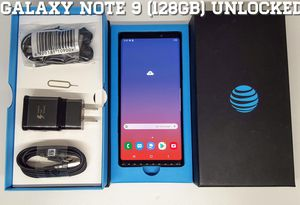 Galaxy Note 9 (128GB) Factory-UNLOCKED (Like-New) for Sale in Arlington, VA