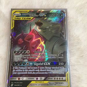 Mega sableys & Tyranitar GX Pokemon Card for Sale in Newman, CA