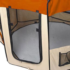 60Pet Dog Kennel Fence Puppy Soft Playpen Exercise Folding Crate W/Bag Zip for Sale in Wildomar, CA