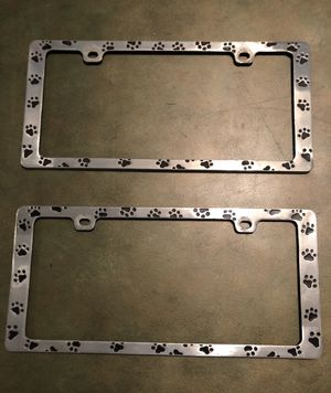 Paws License Plate Covers for Sale in Philadelphia, PA