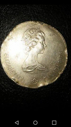 1975 silver coin. Canada$5. 24grams for Sale in Alta Loma, CA