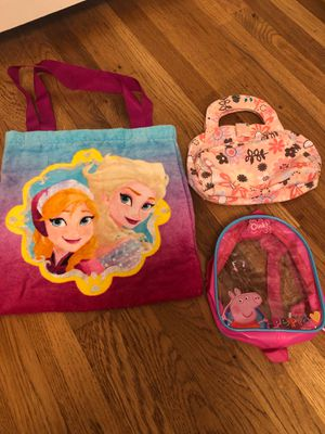 Little girl purses bags backpack for Sale in Lakewood, CA