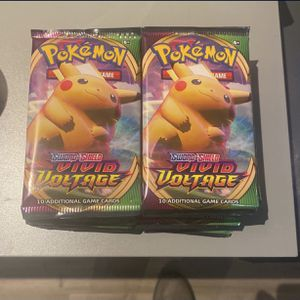 11 Vivid Voltage Booster Packs for Sale in Brownsville, TX