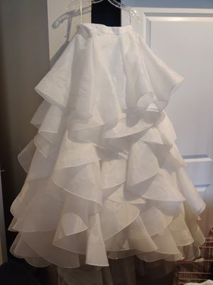 Wedding dress skirt for Sale in Federal Way, WA
