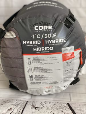 Sleepping Bag 30° F (-1° C). Core Equipment. for Sale in Moreno Valley, CA