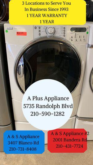 Kenmore Elite Front Load Dryer 1 Year Warranty for Sale in San Antonio, TX