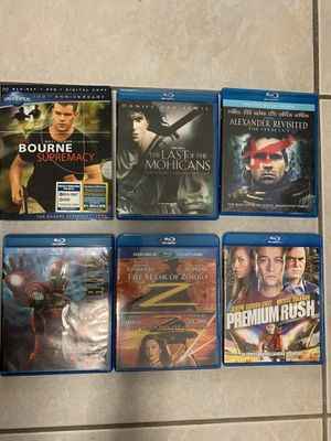 Blue ray movies Iron man 2, Alexander and more for Sale in Miami, FL