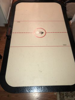 Big Air hockey table floor game for Sale in Vienna,  VA