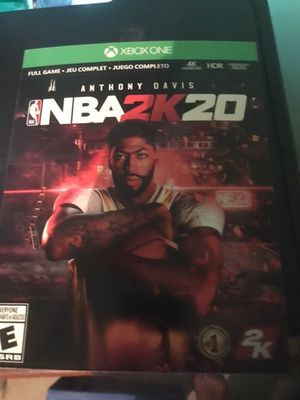 Xbox one game NBA 2k20 for Sale in Colton, CA