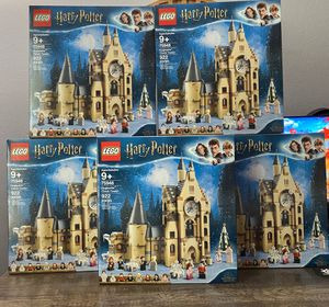 BRAND NEW Lego Harry Potter Goblet of Fire Hogwarts Clock Tower for Sale in Anaheim, CA
