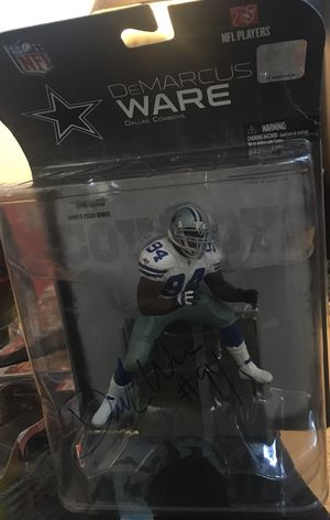 Autographed Demarcus Ware figure by Mcfarlane Toys for Sale in Dallas, TX
