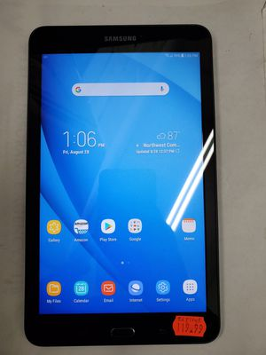 "MINT Samsung Galaxy Tab E 16GB 8"", WiFi, Black Tablet for Sale in Baltimore, MD"