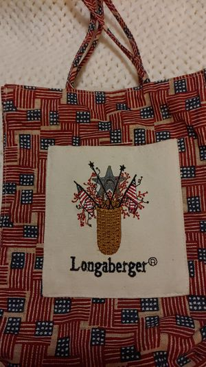 Longaberger Americana longaberger bag for Sale in Sacramento, CA