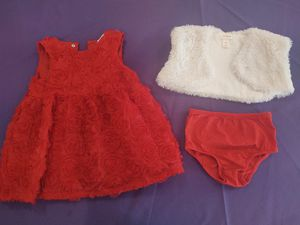 18 Month Girl Christmas Dress with Stole for Sale in Phoenix, AZ