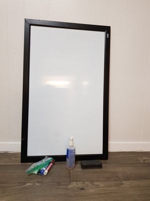 White board. Marker. Cleaner. Eraser for Sale in Austin, TX
