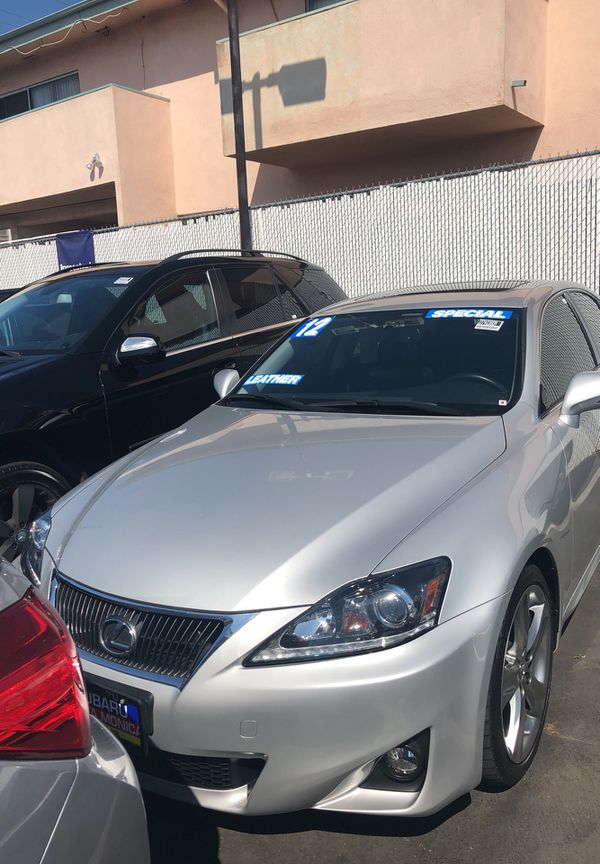2012 Lexus IS 250