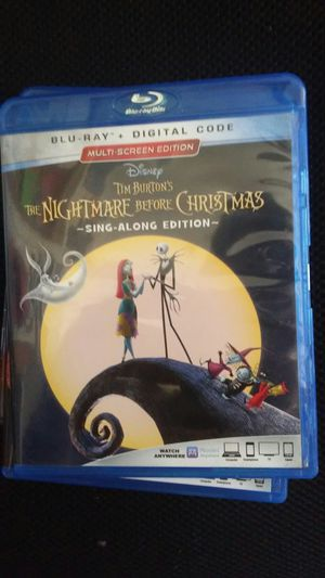 The nightmare before christmas blueray for Sale in Los Angeles, CA