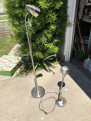 Floor and desk lamps $10 for Sale in San Diego, CA