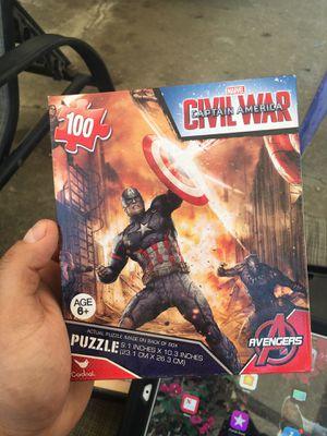 Captain America puzzle $5 bucks brand new sealed for Sale in Carson, CA