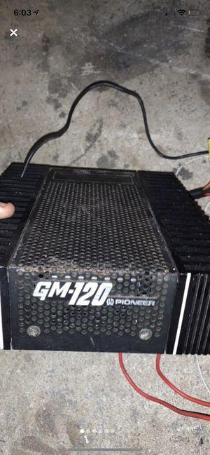 Vintage Gm-120 Pioneer amplifier for Sale in Brick Township, NJ