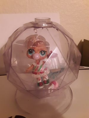 Lol surprise doll dreamin b.b glitter globe winter disco series for Sale in Glendale, AZ