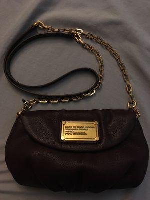 Marc by M jacobs crossbody clutch purse bag workwear Karlie q Percy carob Brown gold hardware cross body handbag for Sale in Phoenix, AZ