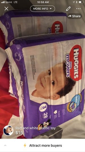 Huggies little movers for Sale in Washington, MD