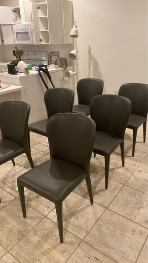 Dining Chairs (set of 6) for Sale in Coral Gables, FL