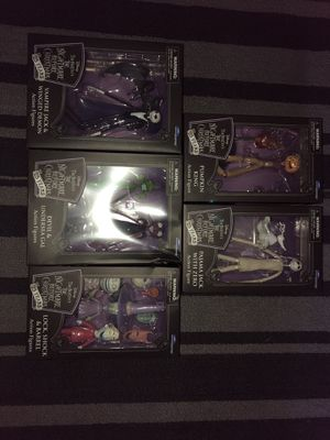 Nightmare before Christmas collectible figures for Sale in San Jose, CA