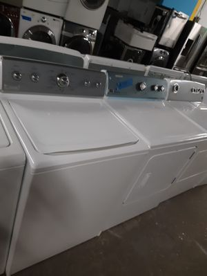 MAYTAG TOP LOAD WASHER AND DRYER SET IN GREAT CONDITION WORKING PERFECTLY $299.00 for Sale in Baltimore, MD
